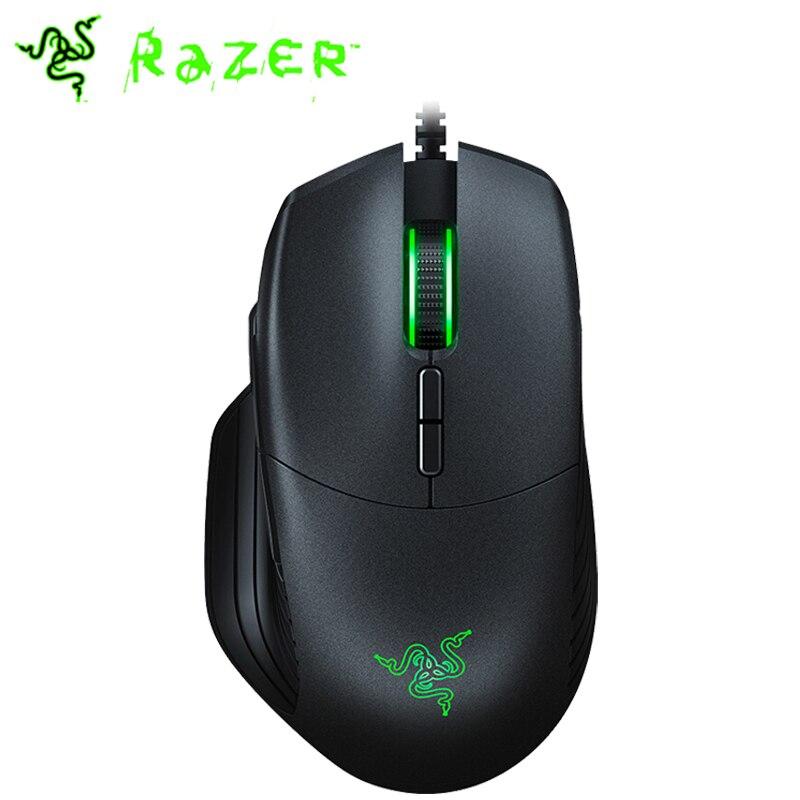 Razer Basilisk Wired Gaming Mouse 6400DPI/16000DPI RGB 5G Optical Sensor Removable DPI Clutch Scroll Resistance 8 Buttons BlackMice   - AliExpress