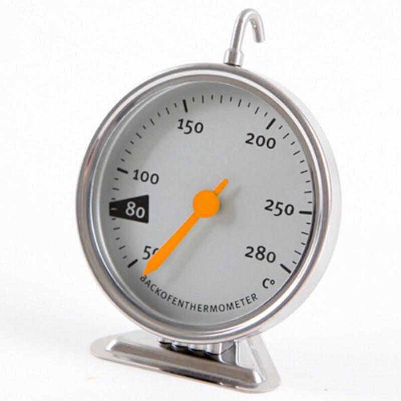 Temperatur Instrumente EntrüCkung Edelstahl Backenwerkzeuge Küche Ofen Thermometerfood Fleisch Haken Zifferblatt Ofen Gewidmet Mechanische Backen Thermometer