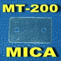 ( 50 pçs/lote ) MT-200 Transistor Mica isolante, Folha de isolamento