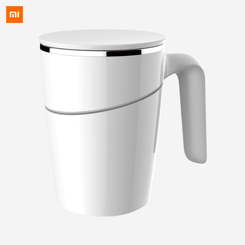 Original Xiaomi Fiu 470ml pas verser tasse intelligente eau tasse Innovation magique ventouse anti-dérapant ABS Double isolation 304 inoxydable