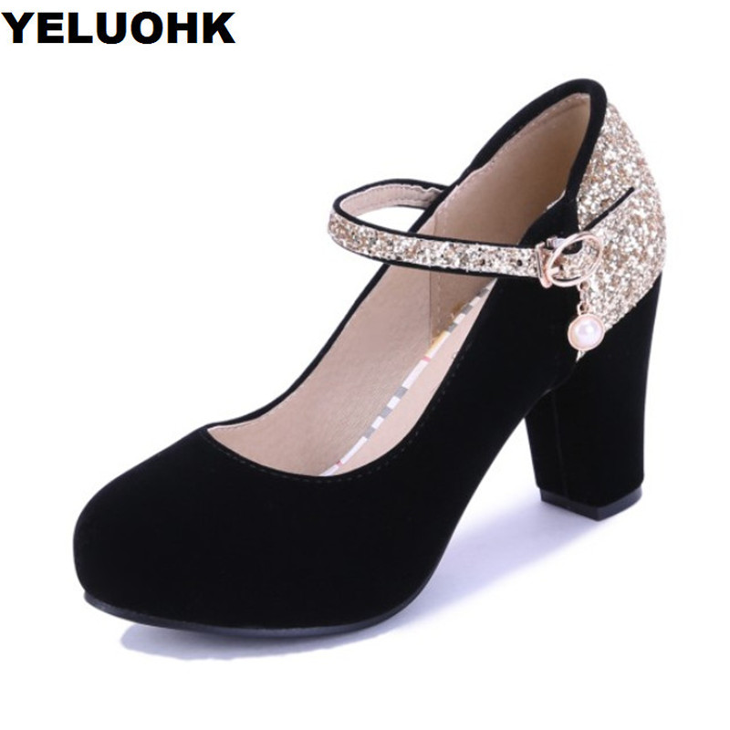 Big Size 43 Woman Sexy High Heels Shoes Wedding Pumps Glitter Ladies Shoes With Heels For Party Bridal Shoes Platform wedding shoes woman sexy high heels platform pumps gold bridal ladies crystal shoes party luxury rhinestone shoes plus size 43