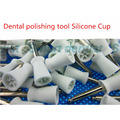 2016 100 pcs Dental polishing tool Silicone Cup Dental New Lab Polishing brush Polish Prophy Brushes Large