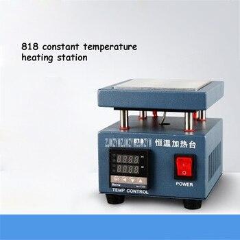 KS818 Preheating Station Digital Display Thermostat Platform Heating Plate Portable Preheating Platform 220V 260W 1~450 Degree