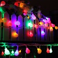 5m 30 LED String Light Colorful Battery Operated Ball Led Fairy Lamp Party Christmas Wedding Indoor Lighting Outdoor Light