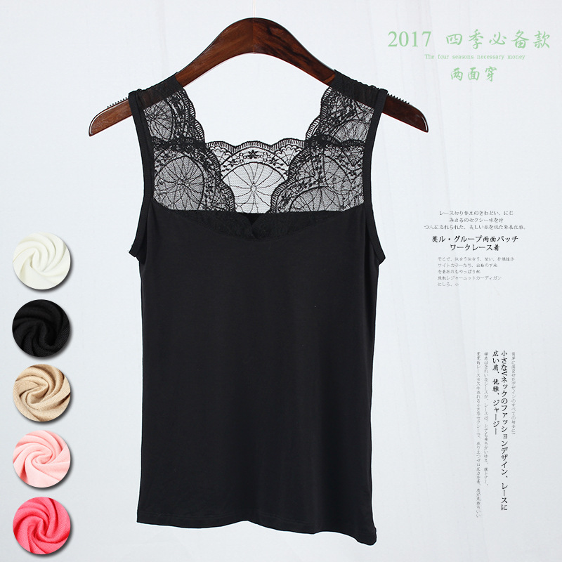 New Lace   Tank     Tops   Female Sexy V-neck Vest Hollow Out Solid Club   Tops   Women Black Beige T Shirt Cotton Polyester   Tank     Top