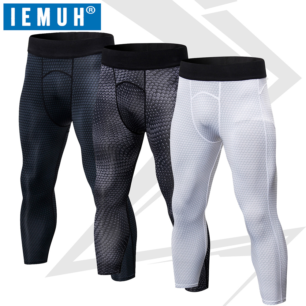 Clothing Shoes Accessories Activewear Tops Men Sport Gym Thermal Pants Compression Base Layer 3 4 Leggings Running Trousers Sraparish Org