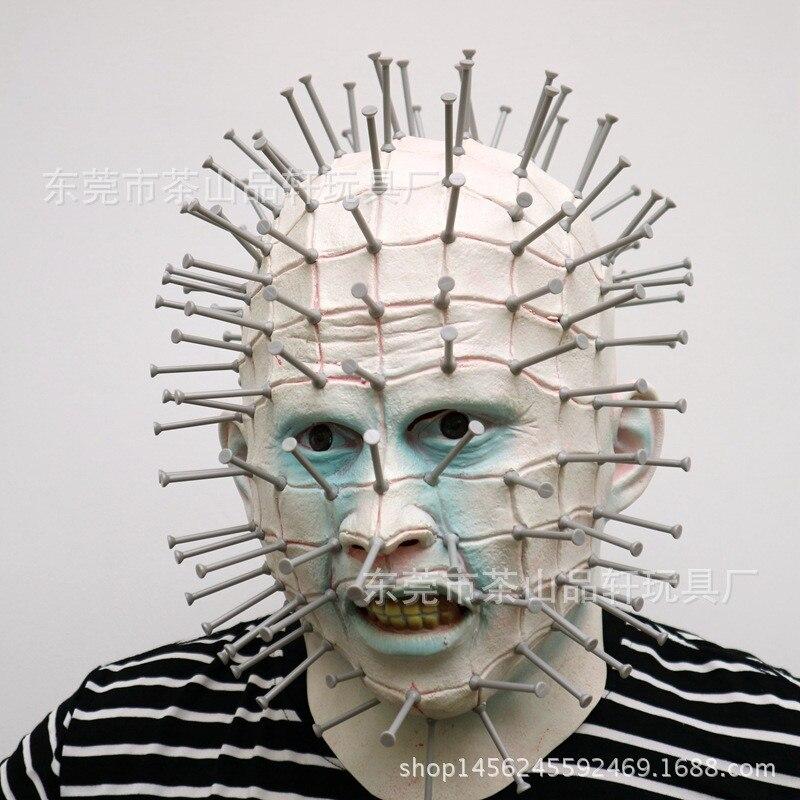 Nouveau Type Super Effrayant Halloween Horreur Masques Adulte Costume Zombie Latex Partie Effrayant Fantôme Masque Cosplay Prop Fantaisie Robe Décor jouet
