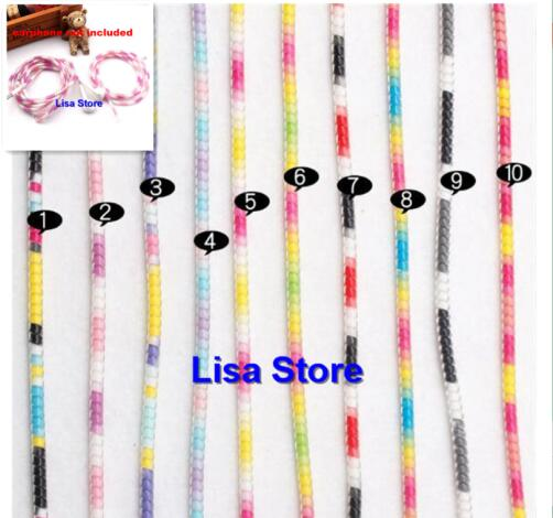 50pcs 140cm Rainbow Color Spring Protective sleeve Mobile Tablet Spiral Cord Protector for Phone iPhone Charger Earphone Cords