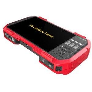Image 4 - Profesyonel HD Birleştirmek Test Cihazı DT A86 7 Inç H.265 4 K IP kamera test cihazı 8MP TVI CVI 5MP AHD CVBS CCTV Test Cihazı monitör Multimetre