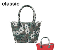 Long Round Flora Canvas Fabric Handle With Classic Insert Lining For Obag Classic Mini O Bag