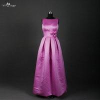 RSE626 длинные фиолетовые платья подружек невесты