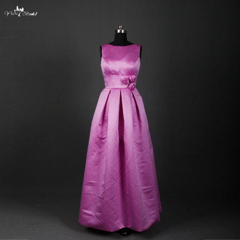 Rse626 Длинный фиолетовый Подружкам невесты