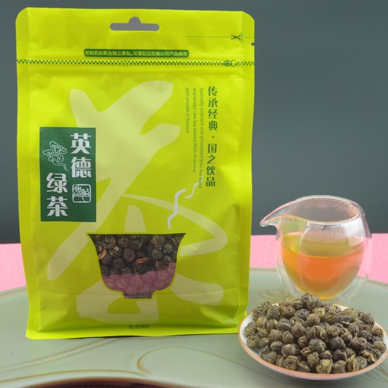 2017 New 250g Top Grade Jasmine Pearl Tea 100% natural fragrant Chinese Green Tea hand-made fresh Slimming tea Free Shipping