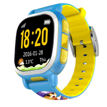 Tencent QQ Inteligente Reloj Niños Reloj Smartwatch WiFi GPS LBS Anti Perdió la Alarma SIM para Android IOS PQ708 2G GSM Nuevo colores