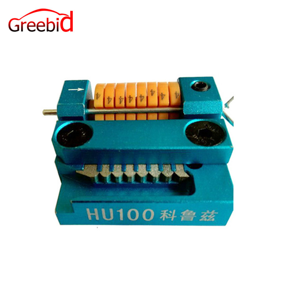 HU100 Manual Key Cutting Machine Support All Key Lost for Cruze цена