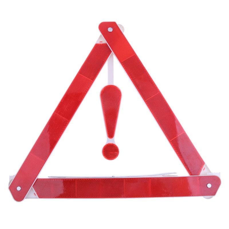 1 шт. авто сзади Предупреждение борту транспортного средства опасность Светоотражающие аварийного Предупреждение штатив сложенный Знак Ст...