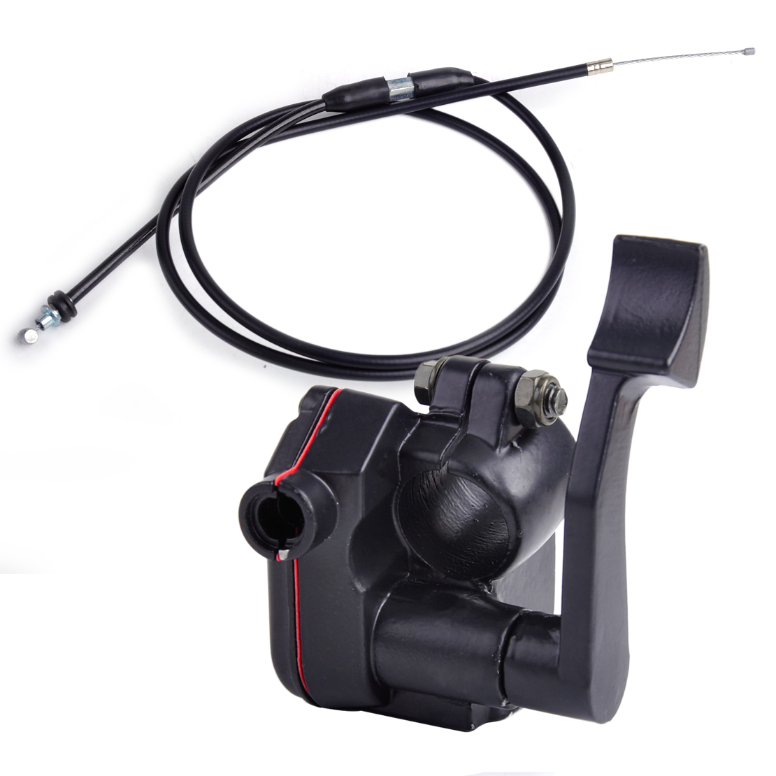 New Thumb Accelerator Lever Controller Throttle Wire Cable Assembly for ATV 50CC 110CC 150CC TaoTao Buyang Coolsport Lifan SUNL  цены