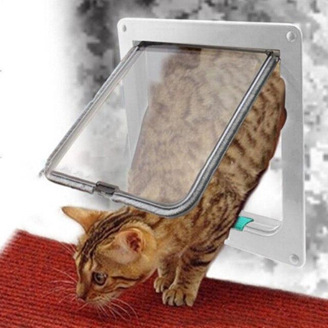 Dog And Cat Door Flap Sliding Glass For Walls Window Secure Locking Pet Door