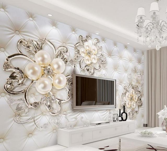 Wallpapers For Living Room 3d Beautiful European Style
