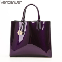 NEW Glossy Big Tote Women Bags High Quality Women S PU Leather Handbags Letter Shoulder Crossbody