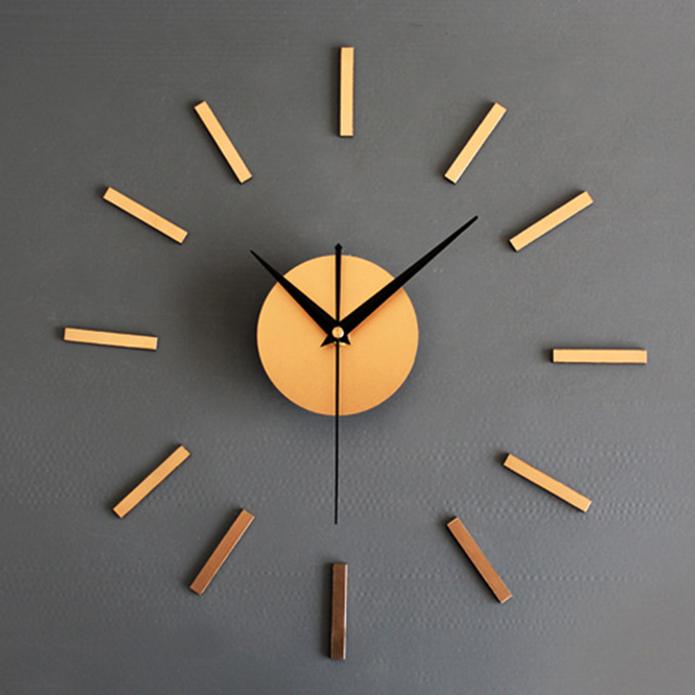 3d Diy Home Decor Quartz Diy Wall Clock Clocks Horloge