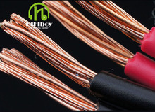 HIFIboy hifi cable 2 square 4N copper special sound box inside the horn speaker cable box wiring cable