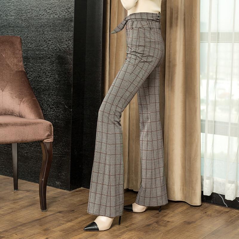 Pantalon 2019 En Femelle Haute Bas Nouveau Harajuku Large Taille Shown Lâche Kelly Femmes Carreaux Sac Corne As Micro À Longue xw6xtEqIB