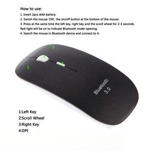 Image 4 - HXSJ ماوس بلوتوث محمول 3.0 ماوس لاسلكي صغير صامت ماوس لعبة بصري 1600 ديسيبل متوحد الخواص انقر فوق الألعاب الفئران لأجهزة Mac PC المحمول