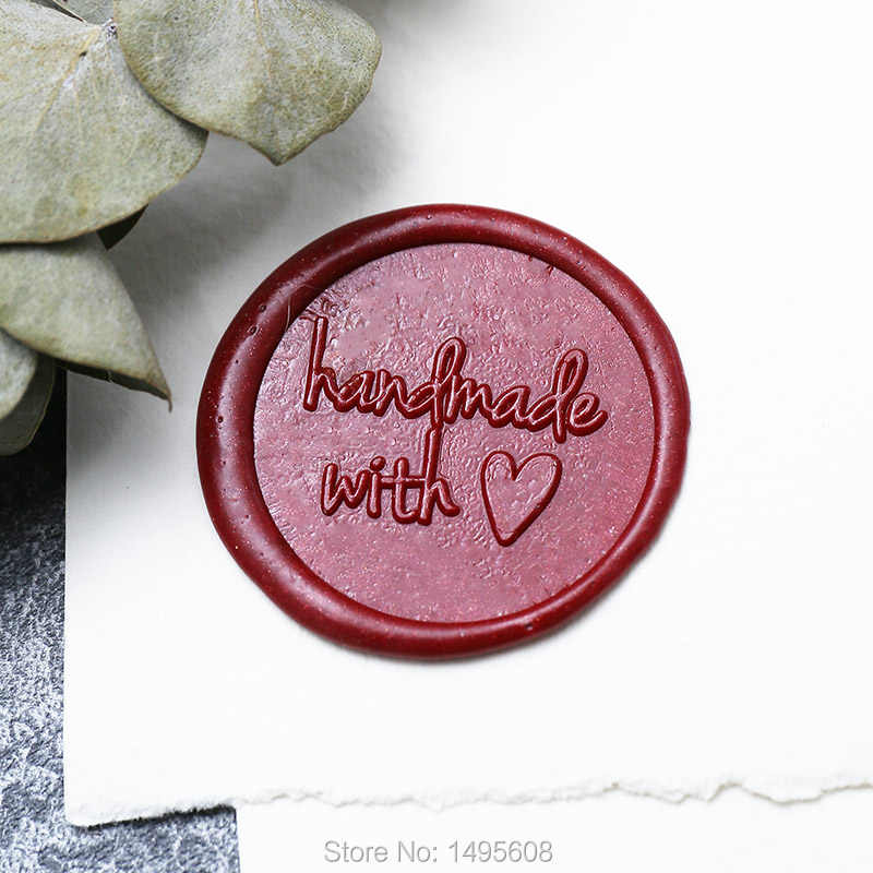 Lover met wax wax seal stamp with wooden handle wedding wax seals party wax seals Someone comes to your way wax seal stamp