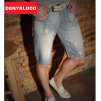 Plus Size 28 40 Spring Summer Light Weight Denim Shorts For Mens Men S Ripped Hole