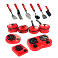 9pcs/set Baby Toy Artificial Tableware Kitchen Toys House Kid's Utensils Cooking Pots Children Pans Food Dishes