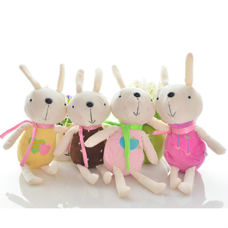 1PCS cute Peter rabbit small plush doll mi / Wedding throwing gifts gift wholesale