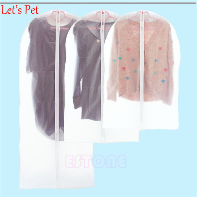 Let's Pet Vacuum Storage Bags Cover Clothes Protector Garment Suit Coat Dust Cover Protector Wardrobe Storage Bag Home Organizer