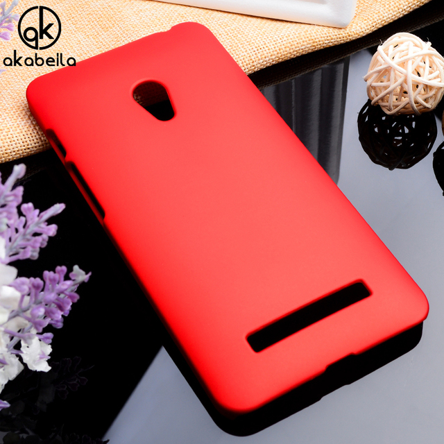 AKABEILA Phone Cases For Asus Zenfone 5 ASUS_T00J Covers A501CG A500CG A500KL ZenFone5 Housing Bags Plastic Matte Hood Shell