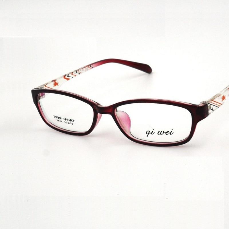 51 16 137 Small face font b fashion b font glasses frame ultra light TR90 men