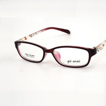 51-16-137 Small face fashion glasses frame ultra light TR90 men and women universal student frame mirror 8834 Free shipping