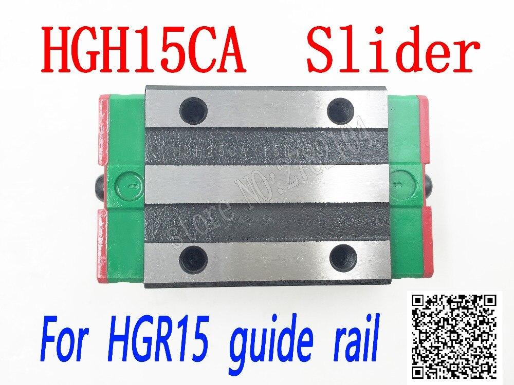 HGH15CA HGW15CC slider block HGH15 CA HGW15 CA HGW15 CC spiel verwendung HGR15 linear guide für linear schiene CNC diy teile