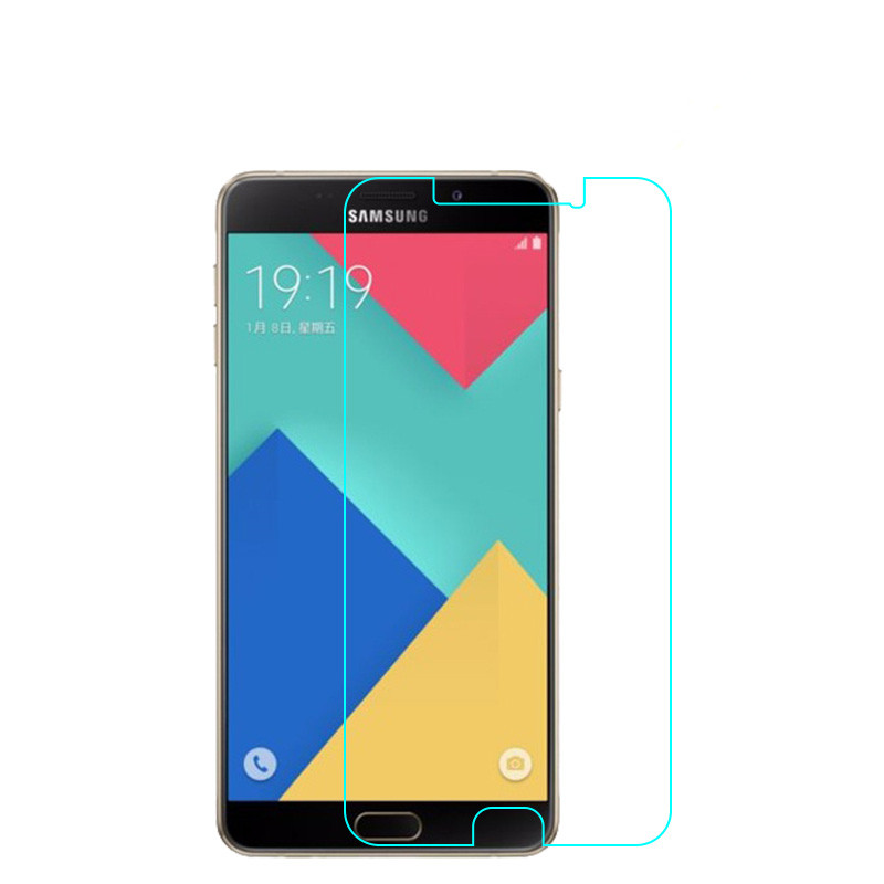 0.26mm Tempered Glass Film For Samsung Galaxy A9 A8 A3 A5 A7 2016 Glass Screen Protector Cover A7 A5 A3 2017 Protective Saver 9H