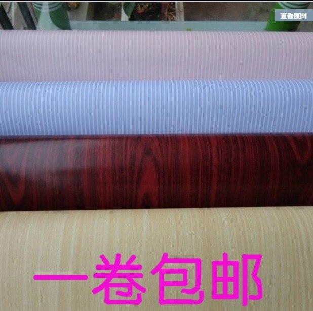 ФОТО New waterproof 10m*45cm home decor Wallpaper wall stickers wardrobe drawer rustic pvc self-adhesive paper furniture wood grain