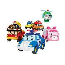 New Kids Toy Animation Amba Auto Toy Robot Polishing Metal Model Roy Christmas Gift Toys iron metal toy wind up toys metal robot car train collection photography props christmas gift walk rotating sound