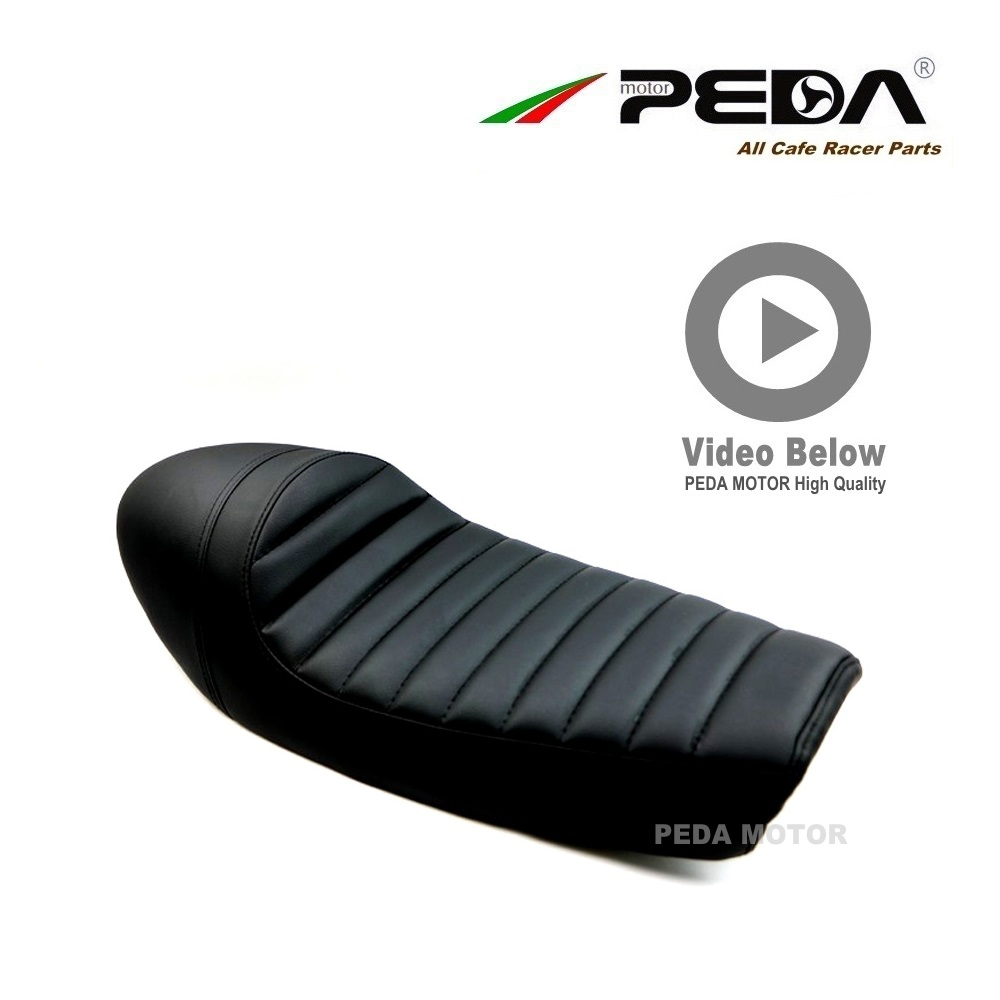 A9 PEDA Cafe Racer Seat A Hump 60cm BLACK for HONDA CG YAMAHA SR Motorcycle Vintage Leather Waterproof Cafe Hump Seats New 2018A9 PEDA Cafe Racer Seat A Hump 60cm BLACK for HONDA CG YAMAHA SR Motorcycle Vintage Leather Waterproof Cafe Hump Seats New 2018