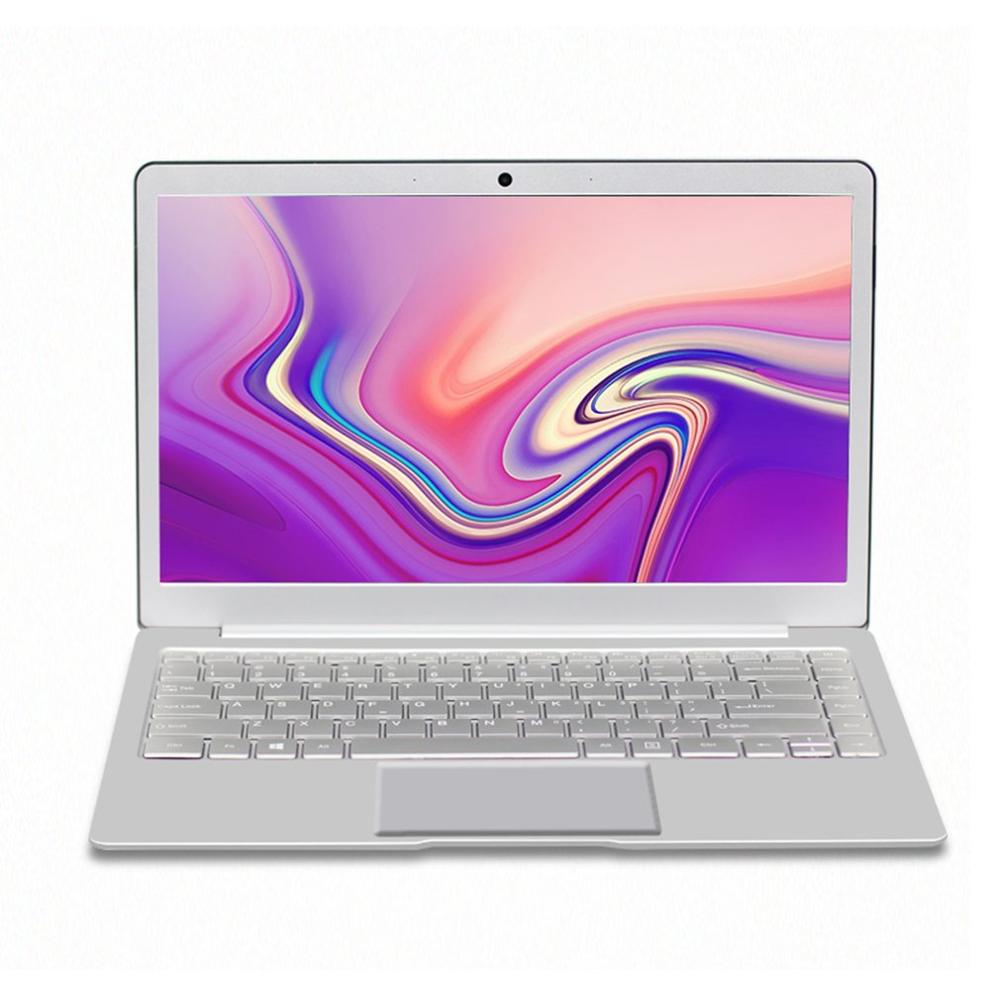 13.3 laptop A11 J3455 8+64G IPS HD screen gaming notebook computer Ultraslim laptop large battery Silver image