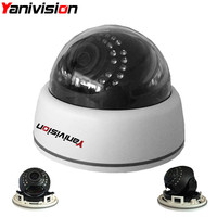 2 8 12mm Varifocal Lens Plastic IR Indoor IP Dome Motion Detection Night Vision 5MP 4MP