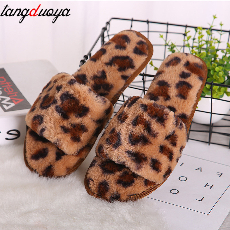 leopard slippers women shoes flats 2019 indoor home slippers women plush indoor shoes warm slippers for women pantuflas mujerleopard slippers women shoes flats 2019 indoor home slippers women plush indoor shoes warm slippers for women pantuflas mujer