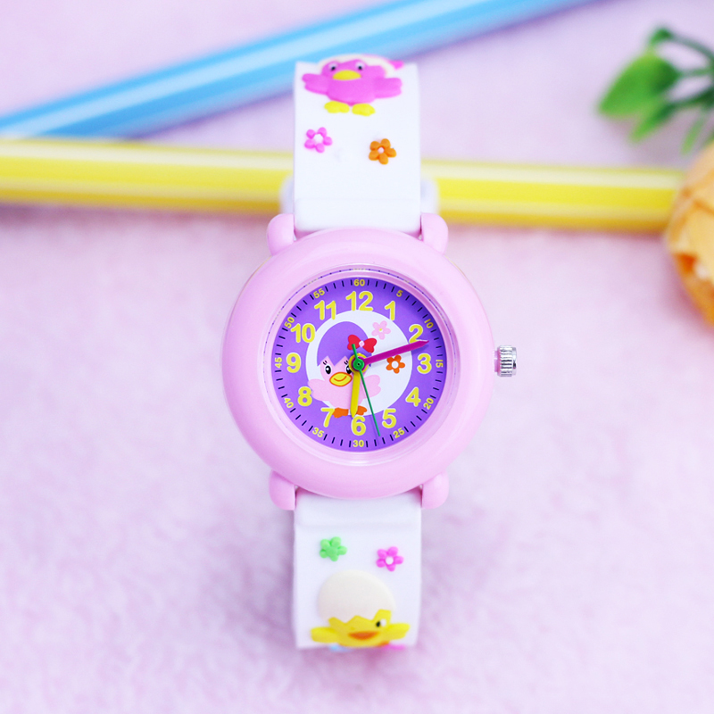 2018 willis brand fashion girls lovely small 3D chicken quartz wrist watches little kids gifts silicone strap personality watch2018 willis brand fashion girls lovely small 3D chicken quartz wrist watches little kids gifts silicone strap personality watch