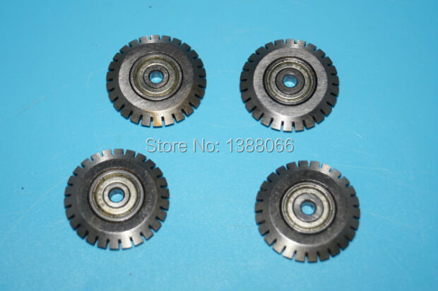 5 Pcs Heidelberg Perforating Wheelheidelberg Gto Wheelheidelberg Gto Parts 30