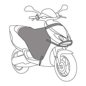Image 5 - KEMiMOTO skutery noga pokrywa motocykl koc kolana cieplej deszcz ochrona przed wiatrem wodoodporna zima kołdra dla BMW dla YAMAHA