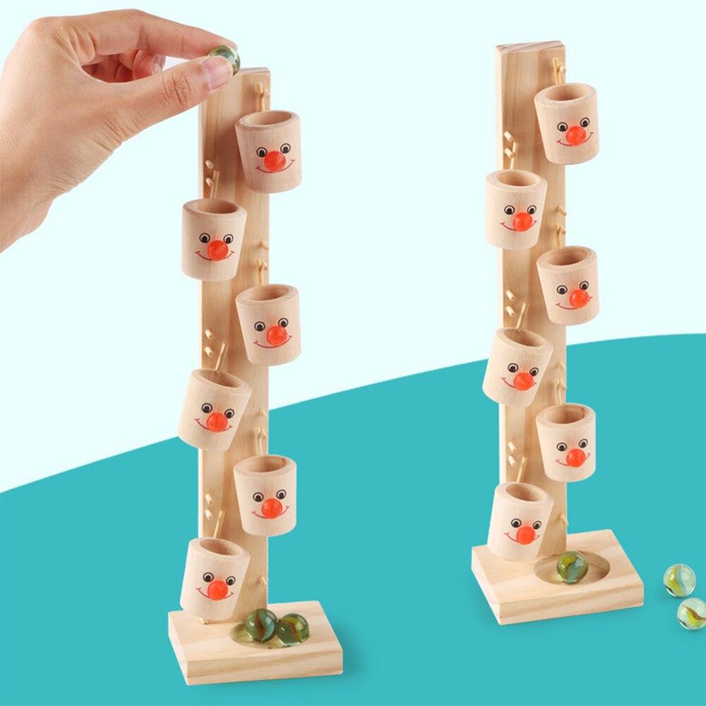 Colorful Socket Cylinder Blocks Wooden Montessori Children Educational Toys