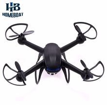 Mini Drone DM007 2.4GHz 4 Channel LCD Remote Control RC Quadcopter 6 Axis Gyro with 2.0MP HD Camera RTF Helicopters