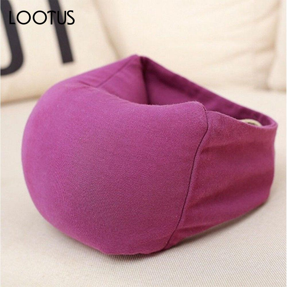 office naps. Pillow Train Sleeping Travelling Soft Eco Friendly Cushion Blue Office Naps Microbeads Eye Mask Head Support Car Portable-in Travel Pillows From Home F